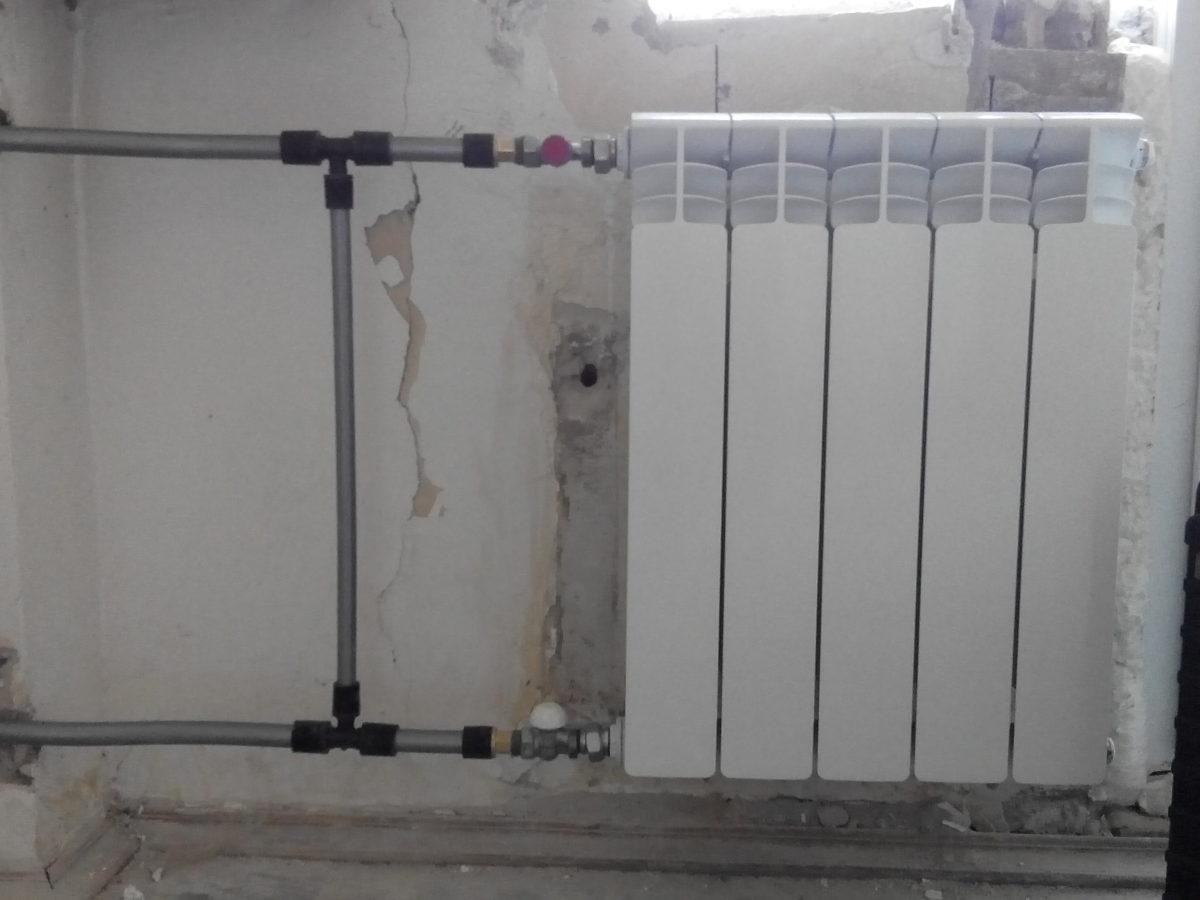 подключение радиатора