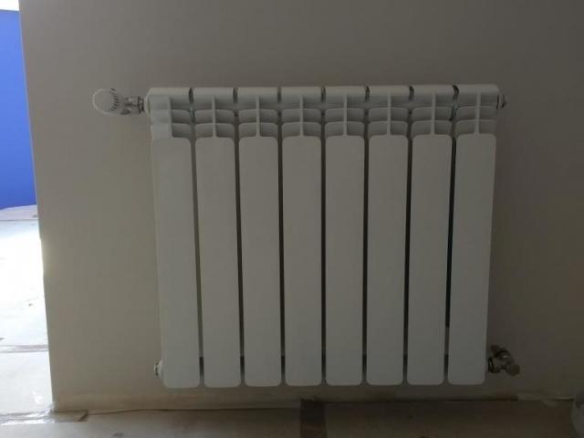 подключение радиатора с терморегулятором