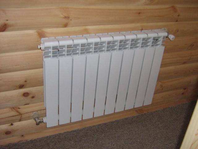 установка радиатора в квартире